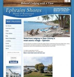 Ephraim Shores Resort Amp Restaurant Door County Resort